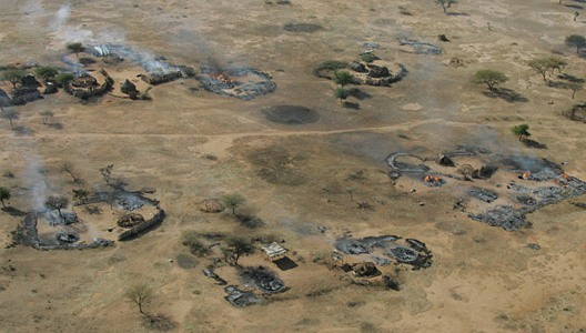 Bombardments in Darfur (file photo)
