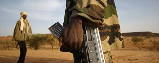 Militiaman in Darfur (file photo)
