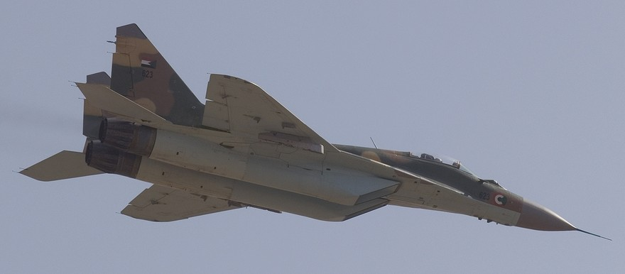 Sudanese Air Force MiG-29 (Wikimedia commons)