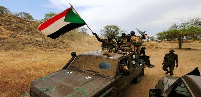 Sudanese army troops in Darfur (archive photo)