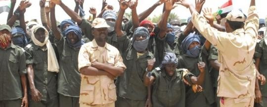 RSF troops in Khartoum (file photo)
