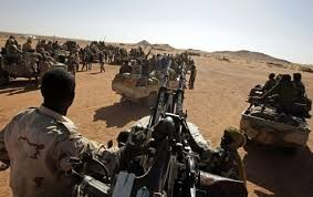 Rapid Support Forces in Darfur , 29 December 2014 (Sudan Armed Forces)