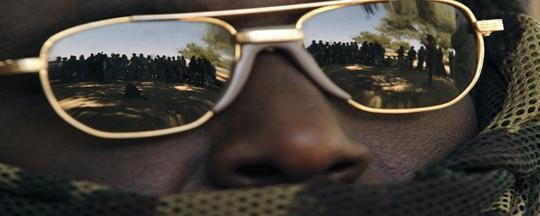 A gunman in Darfur (archive photo)