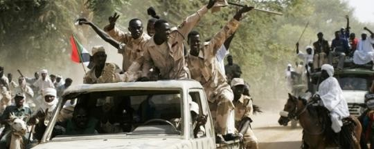 Rapid Support Forces in a parade in El Fasher, capital of North Darfur