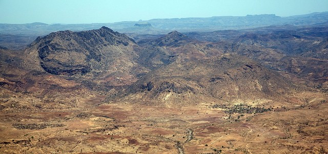 The area of Kaguro and surroundings, East Jebel Marra (Albert González Farran/Unamid)