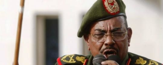 Omar Al Bashir, Field Marshall of the Sudan Armed Forces (SAF). In January 2010, he issued a decree relieving himself from the position of SAF general commander in a procedural step required in order for him to run in the 2010 presidential elections as nominee of the ruling National Congress Party. (archive photo)