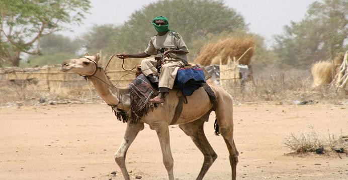 A camel rider in Darfur (RD file photo)