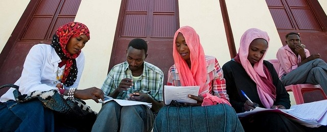 Students at the University of El Geneina, West Darfur (Albert González Farran/Unamid)