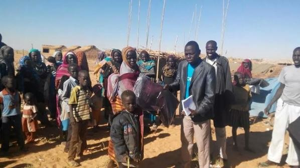 Unicef Sudan distributed over 1,000 blankets to newly displaced in North Darfur (Unicef)