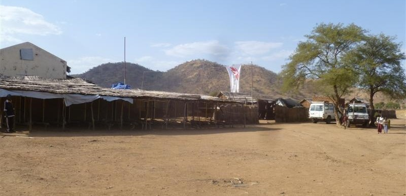 The MSF Hospital in Frandala, South Kordofan (MSF)