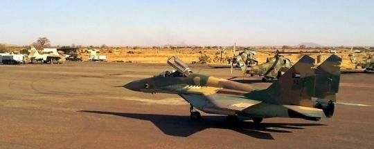A MiG-29 of the Sudanese Air Force (file photo)