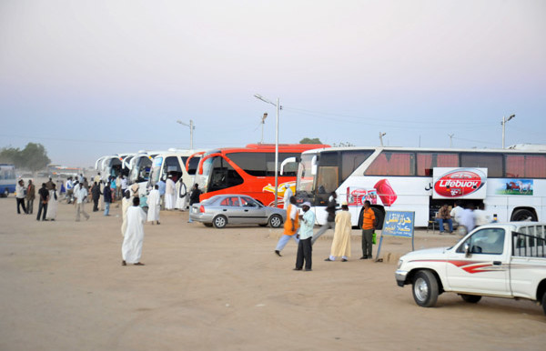 Bus station in Kassala, Sudan (PBase)