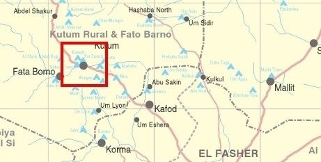 Kutum town in North Darfur.