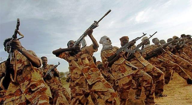 Sudanese soldiers (file photo)
