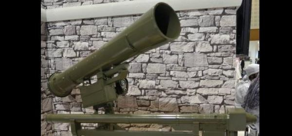 A shoulder-fired light surface-to-air (SAM) missile launcher (Sudan Vision Daily)