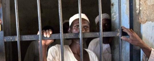Prisoners in Sudan (file photo)