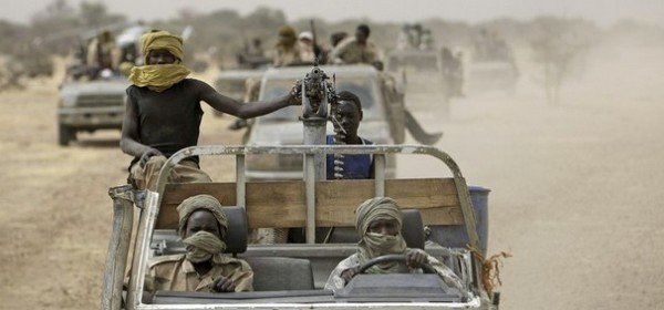 SLM-AW combatants in Darfur (file photo)