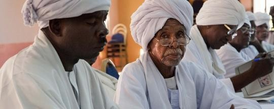Tribal elders at a conference in El Fasher, capital of North Darfur (Albert González Farran/Unamid)