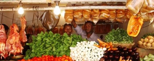 A market stall in Khartoum (File photo)