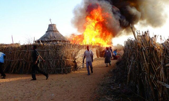 Darfur camp for displaced people (Eric Reeves)