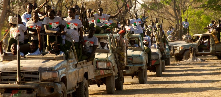 Combatants of the Justice and Equality Movement (JEM) in South Darfur, April 2015 (JEM)