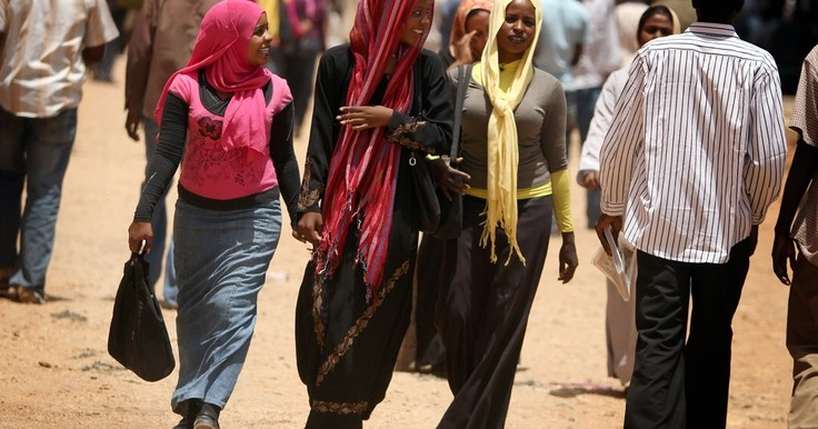 Sudan university students (Pinterest)