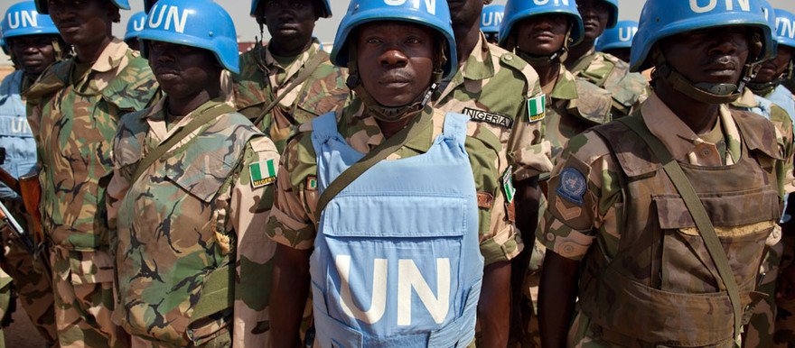Unamid peacekeepers from Africa (Albert Gonzalez Farran/Unamid)