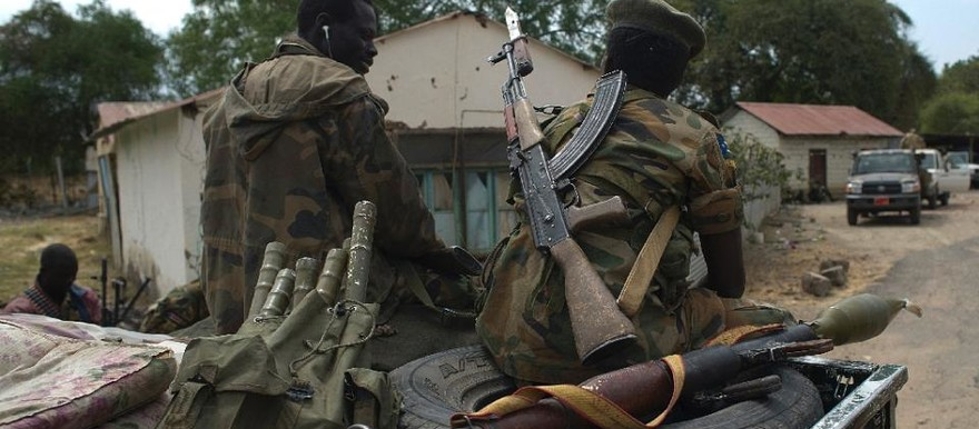 Soldiers of South Sudan's SPLA in Malakal (file photo)
