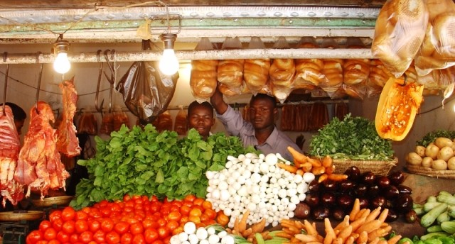 A market store in Khartoum (file photo)