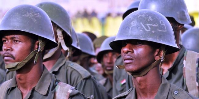 Sudanese Army troops (File photo)