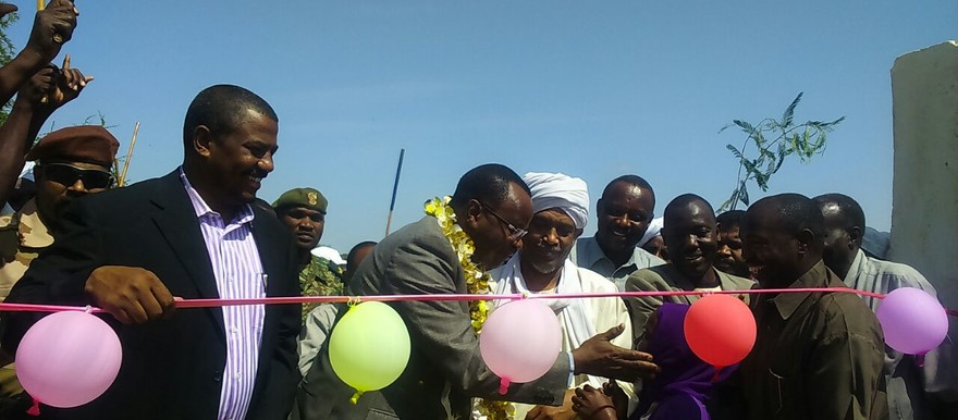 The Darfur Regional authority opens a school in East Darfur, 26 July 2015 (RD)