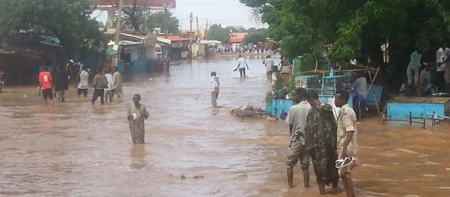 Flooding in El Fasher, capital of North Darfur, August 2014 (RD)
