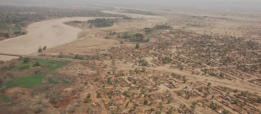 Camp for displaced people in El Geneina, West Darfur (UNEP)