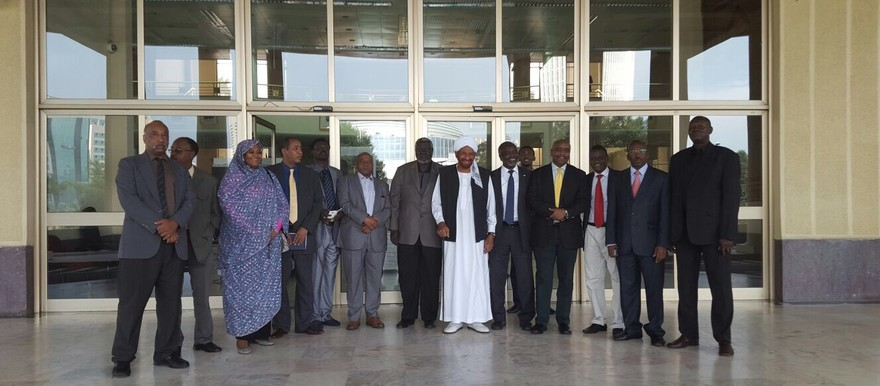 Members of the Sudanese opposition in Addis Ababa (Sudan Appeal)