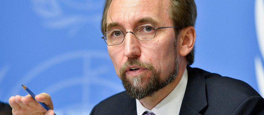 UN High Commissioner for Human Rights Zeid Ra'ad El Hussein (UNWatch)