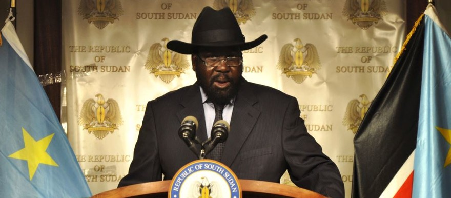 South Sudan's President Salva Kiir (File photo)
