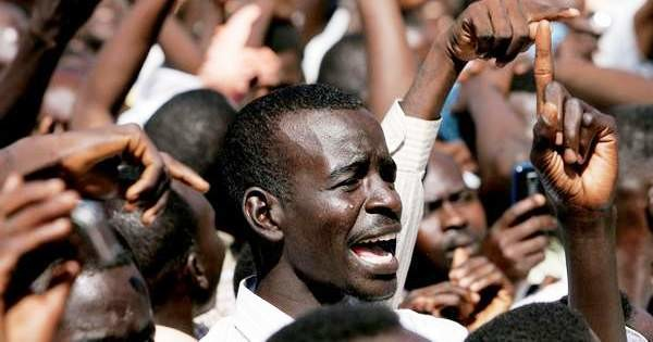 A student protest in Sudan (File photo)