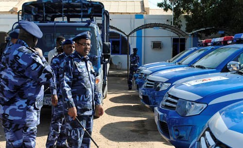 Sudanese policemen (file photo)