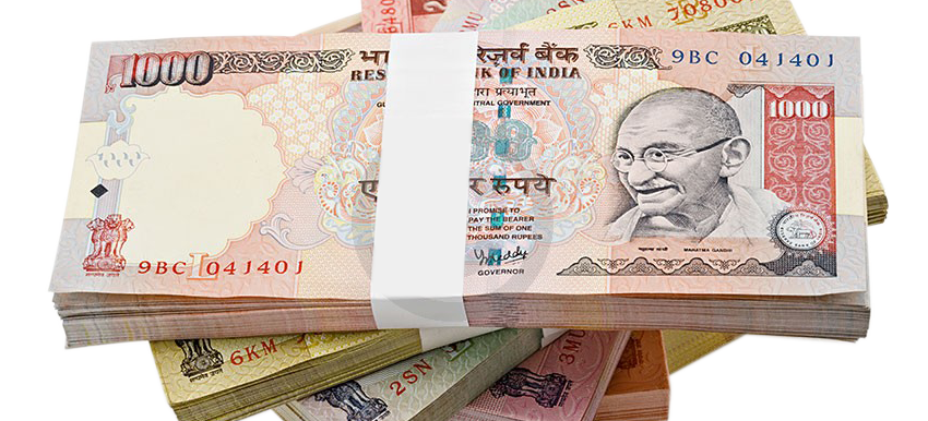 Indian Rupees (pngimagesfree.com)