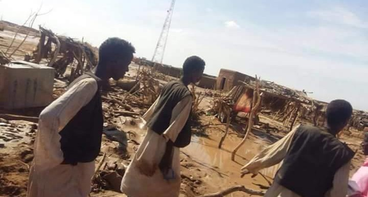After flash floods washed away hundreds of homes in eastern Sudan's Haya locality in 2015 (RD)