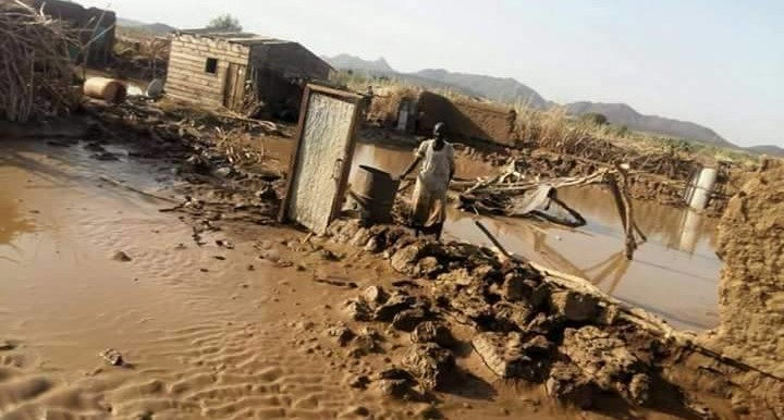 Flash floods washed away hundreds of homes in eastern Sudan's Haya locality in October (RD)