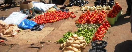 Vegetable market in El Obeid, capital of North Kordofan (file photo)