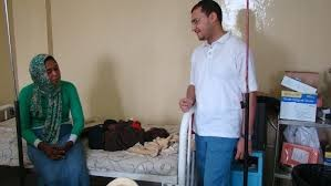 El Zarra Cancer Hospital in Khartoum (file photo)