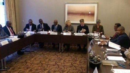 Informal talks in 2016 between Khartoum and the SPLM-N in Berlin, Germany (Sudanvisiondaily)