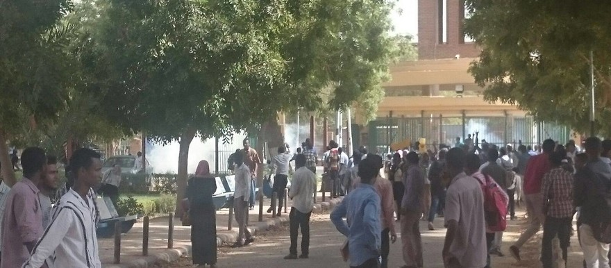 On Sunday 13 March, riot police used tear gas to disperse students demonstrating at the University of Khartoum (RD)