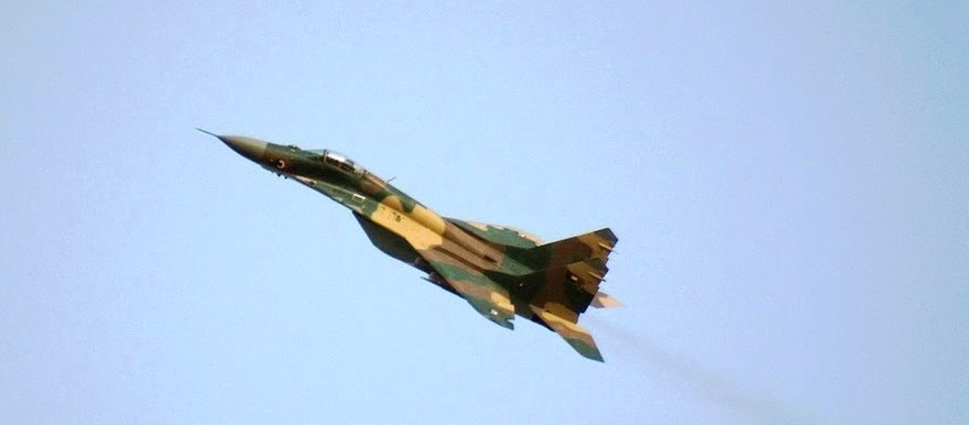 A Sudanese Air Force Mikoyan-Gurevich MiG-29SE
