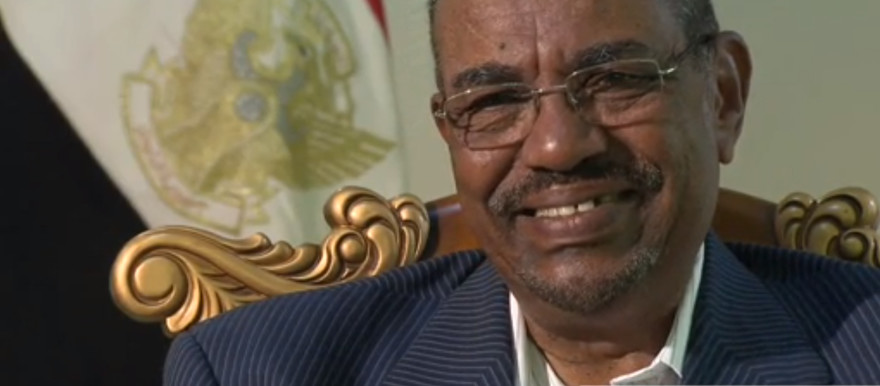 Sudanese President Al Bashir speaks to the BBC