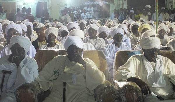 A tribal conference in Darfur (file photo)