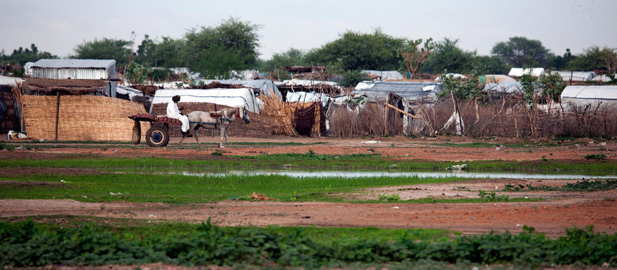 The Forika camp for the displaced in Gereida, South Darfur (Albert Gonzalez Farran/Unamid)
