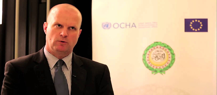 Ivo Freijsen, Head of Office of the United Nations Office for the Coordination of Humanitarian Affairs (OCHA)